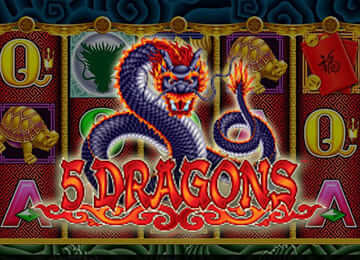 5 Dragon Slots by Aristocrat